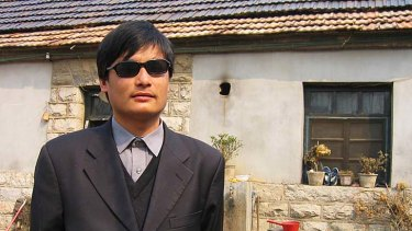 Blind legal activist Chen Guangcheng remains fearful over the safety of his relatives.