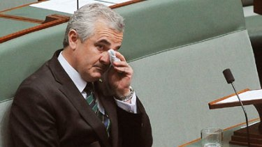 "Andrew Wilkie ... wondering whether Mr Rudd was ""fair dinkum""."