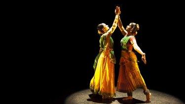 Delicate duet: Shruti Ghosh and Aruna Gandhimathinathan.