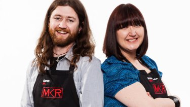 Geek week: West Australian gatecrashers Kieran Reidy and Nastassia Jorre De St Jorre.