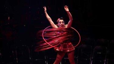 'Jess Love' in La Soiree at the Sydney Opera House.