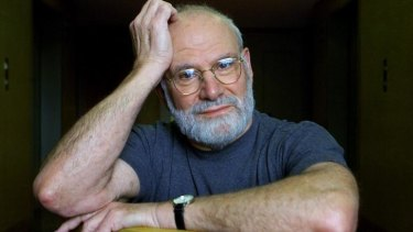 Oliver Sacks during a book tour in Australia in 2002.