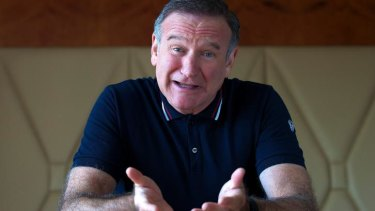 Money worries: Robin Williams.