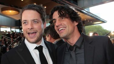 Opening act... Hamish Blake and Andy Lee will kick off this year's Logies.