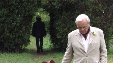 Anthony Hopkins star in <i>The City of Your Final Destination</i> by director James Ivory.