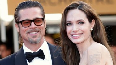First photos: Angelina Jolie and Brad Pitt have released the first images of their private wedding ceremony.