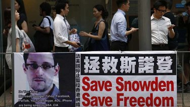Hacking allegations: Edward Snowden said the NSA hacked Chinese mobile phone text messages.
