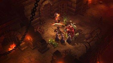 A screenshot of <em>Diablo III</em>, released in Australia this week.