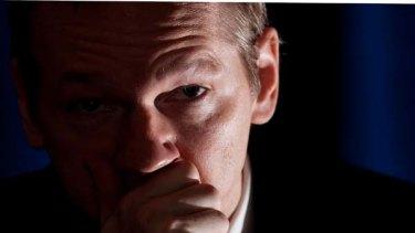 Founder of the Wikileaks website, Julian Assange.