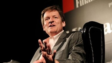 Shaking things up: Author Michael Lewis caused a stir with his recent book Flash Boys.