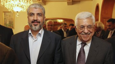 Palestinian Authority president Mahmoud Abbas and Hamas leader Khaled Mashal both hailed an agreement to hold legislative elections in the Israeli-occupied West Bank and Gaza Strip in May.