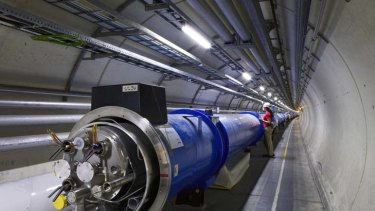 Seeking credit ... Indian scientists would like formal acknowledgement of their contribution to the development of the Large Hadron Collider.