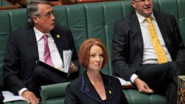 Poor sales pitch ... Prime Minister Julia Gillard.