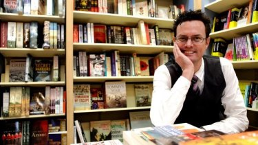 Sales improving: Jon Page, owner of Pages and Pages book shop in Mosman, Sydney.