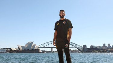 Import: Amritpal Singh will play for the Sydney Kings this season.