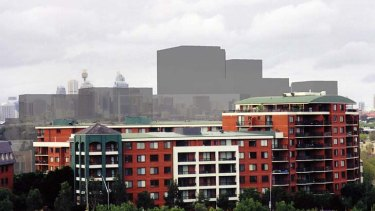 The  Ashmore   estate at Erskineville  ... city and state planners disagree over the  allowable density for its development.