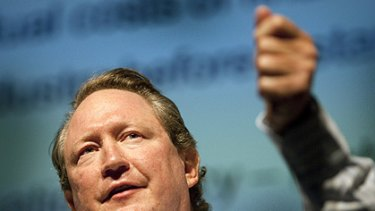 $568 million is all in a day's work for mining magnate Andrew Forrest.