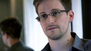Ex-NSA contractor Edward Snowden.
