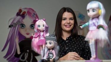 Madeleine Hunter from Hunter Products created the Shibajuku Girls dolls.