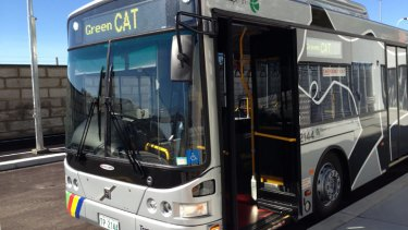 Perth's new Green CAT service will run from the city to Leederville.
