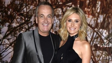 'Signs keep on pointing to recovery' ... Glenn Wheeler and TV meteorologist Magdalena Roze.