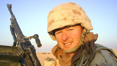 """ If it's the enemy, shoot 'em"": Retired Australian warrant officer Joe Day."