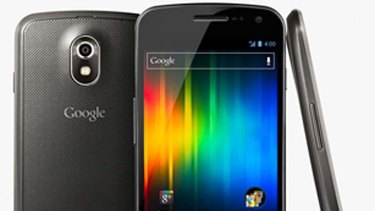 In stores today ... Samsung's Galaxy Nexus