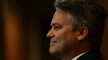 Finance Minister Mathias Cormann refused to rule out tax increases if budget measures weren't passed.