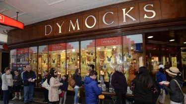Queues of Harry Potter fans waited for hours to get their hands on <em>Harry Potter and the Cursed Child</em> at Dymocks in Sydney.
