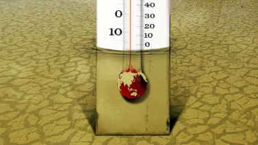 Global warming is a matter of degrees.