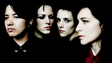 Raw power: (From left) Savages Ayse Hassan, Gemma Thompson, Jehnny Beth and Fay Milton.