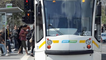 Tram passengers across Melbourne have their ticket checked about one time out of 100.