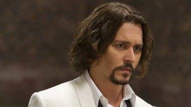 Johnny Depp in <i>The Tourist</i>.