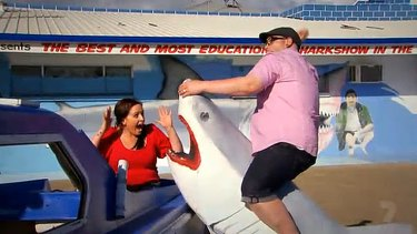The 'most educational show' you can get in Hervey Bay.