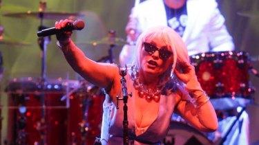 Blondie's Deborah Harry at the Enmore Theatre.