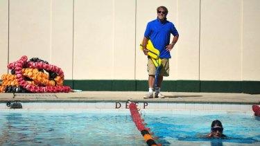 "John ""Tav"" Taverner has spent decades working at the historic Manuka Pool."