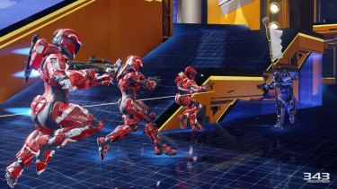 Your Spartan soldier is much more agile in Halo 5, and levels are laid out differently because of it.
