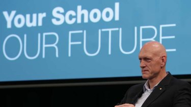 """Mr Gonski and the review panel have made clear, there is still a lot of work to do to test and refine the various elements"" ... Education Minister Peter Garrett."