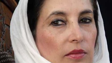 Benazir Bhutto...security severely flawed.