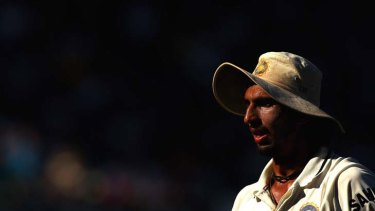 A summer to forget ... Ishant Sharma's tour of Australia has not been going to plan.