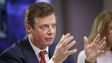 Paul Manafort, a campaign manager for Trump, was charged with conspiracy during the investigation into Russian meddling with the U.S. election.