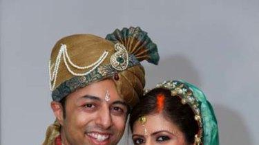 Newlyweds ... Shrien and Anni Dewani.