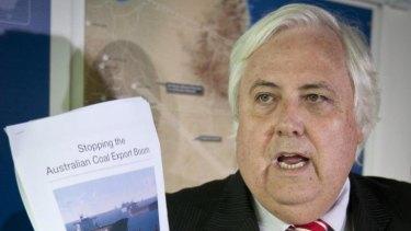 Conspiracy theories ... Clive Palmer.
