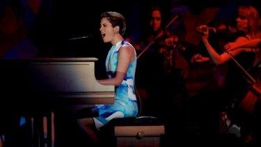 Missy Higgins performs in 2012.