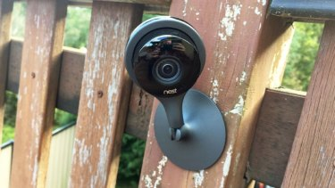 The Nest Cam Indoor has 130-degree FOV and can be adjusted to point in any direction.