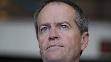 "Opposition Leader Bill Shorten: "" I'll put my record against Tony Abbott's anytime."""