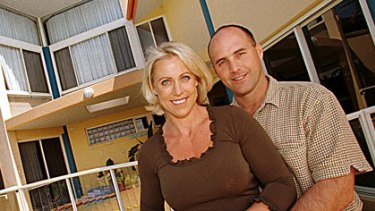 Lisa Curry and Grant Kenny in 1999.