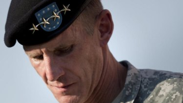 Bombshell ... Hastings's book is based on his <i>Rolling Stone</i> story about US Army General Stanley McChrystal.