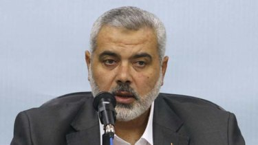 Ismail Haniyeh ... says Hamas is open to peace deal.