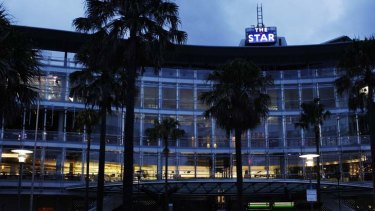 The place to be ...  'The Star' Casino.